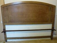 Bed double 1930s
