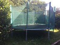 13' Trampoline with enclosure for sale in Sale