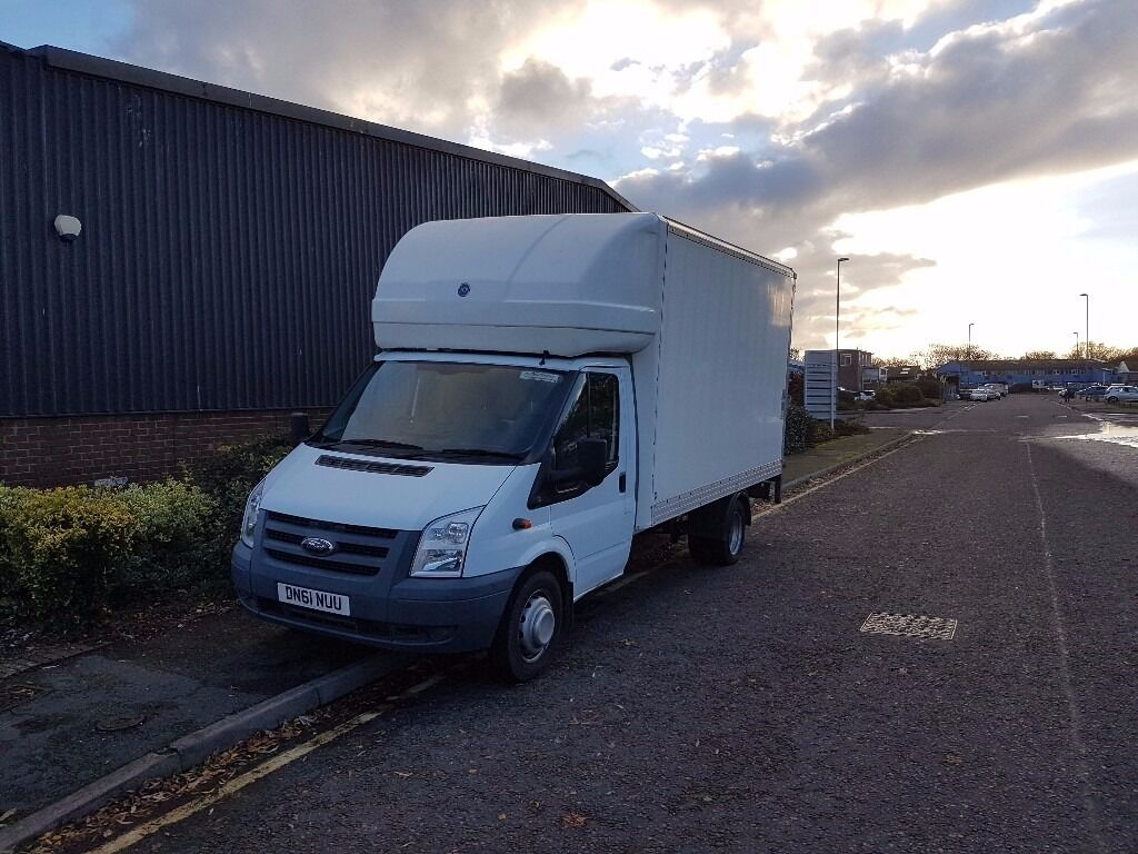 e9b9504684 REDUCED price for quick sale. Ford Transit Luton van with tail lift ...