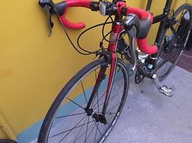 Kona Zing Deluxe Road Bike 49cm, S, serviced