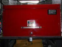 SYKES-PICKAVANT TOOL BOX WITH TOOLS