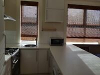 1 bedroom flat with large garden, recently refurbished.