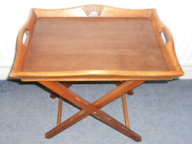 Butlers Tray and Folding Stand