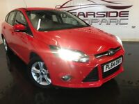 FORD FOCUS 1.6 Ti-VCT Zetec 5dr (red) 2014