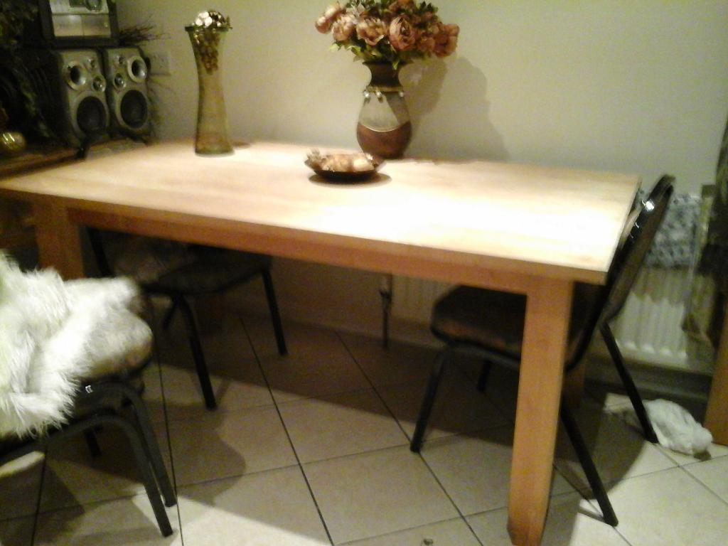 Heavy Duty Kitchen Table And 4 Chairs United Kingdom Gumtree