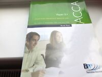 BPP ACCA STUDY TEXT and REVISION KIT 3.1