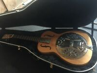 Gorgeous Dobro Resonator Guitar and Case