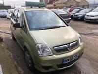 Vauxhall Meriva 1.3 CDTi 16v Life 5dr£1,485 p/x welcome FREE WARRANTY . NEW MOT