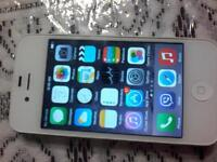 Iphone4s 16g brand new condition used 3 four months.