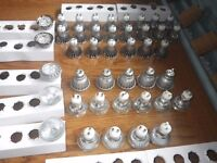 Assorted LED and Halogen Downlighter GU10 Lamp Bulbs