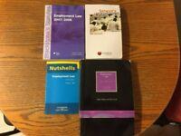 Law Books - Employment Law x 5 Books - Job Lot