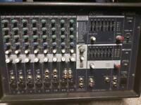 Yamaha emx 212 powered mixer amp
