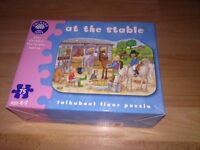 Orchard toys Stable jigsaw (RRP £10) from smoke and pet free home