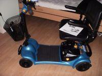 euro ultralight 4 wheel scooter