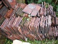 Reclaimed Rosemary Red Clay Roof Tiles - 1500+