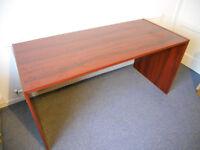 Large Desk - Mahogany Finish