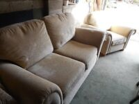 2 - Seater Sofa and Armchair