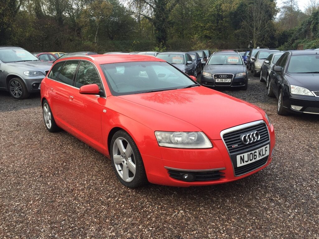 audi a6 avant 3 0 tdi s line quattro 5dr auto red 2006 in stourbridge west midlands gumtree. Black Bedroom Furniture Sets. Home Design Ideas
