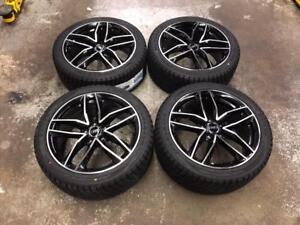 "18"" Audi Wheels 5x112 and Winter Tires 245/40R18 (Audi Cars) Calgary Alberta Preview"