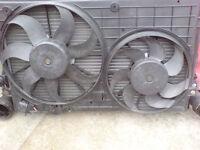 volkswagen group 1.9 diesel radiator plus fans