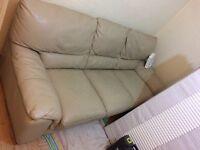 Big Dfs leather sofa