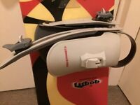 K2 fatbob Snowboard with Preston LS bindings