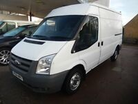 FORD TRANSIT.. MEDIUM WHEEL BASE (MWB) 2011.. 61 PLATE.. 61K MILES...12 MONTHS MOT