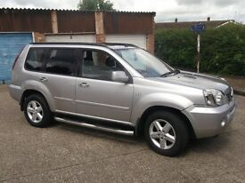 NISSAN XTRAIL DCI 4x4 ESTATE PX TO CLEAR 2005 MODEL FULLY LOADED SPARES OR REPAIR