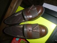 NEW IN BOX HOTTER HAMLET LOAFERS SHOES - 6