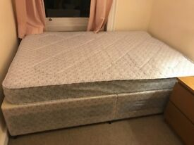 Free Double Mattress and Base