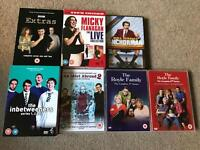 3 box sets plus 4 other comedy DVDs
