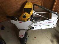 Mini moto racer/sidecart custom built powdercoated frame!!!