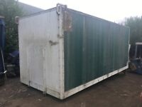 TRUCK BOX BODY FOR STORAGE / FIELD SHELTER, COLLECTION ONLY £120