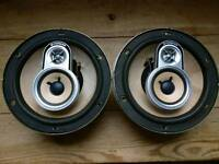 "Pioneer classic car speakers 6.5"" retro rare"
