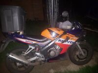 Honda crb 125 swap project would add some chash for right offer