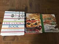 Cook Book's x 3