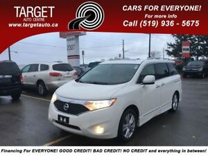 2012 Nissan Quest Limited;Leather,DVD,Navi,Dual Sunroof,Super Cl