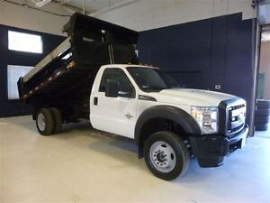 2016 Ford F-550 CHASSIS CAB BOITE DOMPEUSE 4X6 20450KM