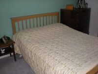 Good quality double bed.