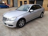 2011 MERCEDES BENZ E200 CDI AUTO! 98K LOW MILEAGE! PCO REGISTERED! BARGAIN ONLY £6999 NO OFFERS!
