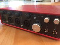 Recording Interface: Focusrite Sapphire 18i8 £110 (£290 New)