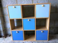 Children's toy storage unit