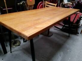 Vintage Mid Century Bespoke Dining Table