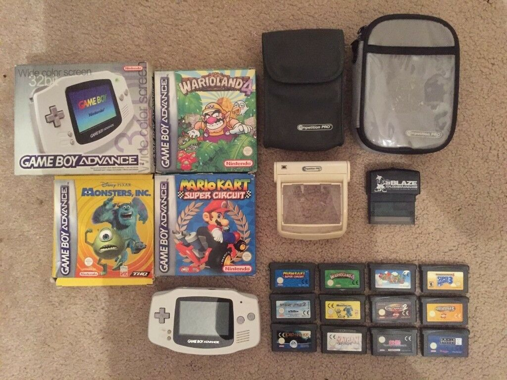 Gameboy Advance 12 Games Xploder Nintendo In North Hykeham Mario Kart Super Circuit For Gb Video