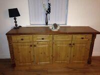 pine side board £40