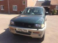 Mitsubishi Challenger 3.0 V6 Spare or repair NEED GONE MONDAY 30 OCT EVENING