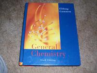 General Chemistry Sixth Edition by Ebbing Gammon Large Hardback
