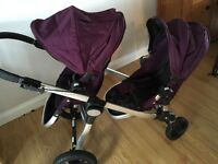 Baby jogger city select double or single buggy