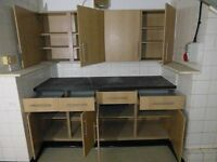 Kitchen Units and Work Top