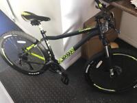 "Voodoo Bantu mountain bike. 18"" frame"